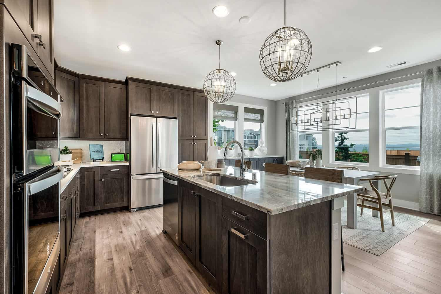 Kitchen featured in the Residence GR-24 By Tri Pointe Homes in Seattle-Bellevue, WA