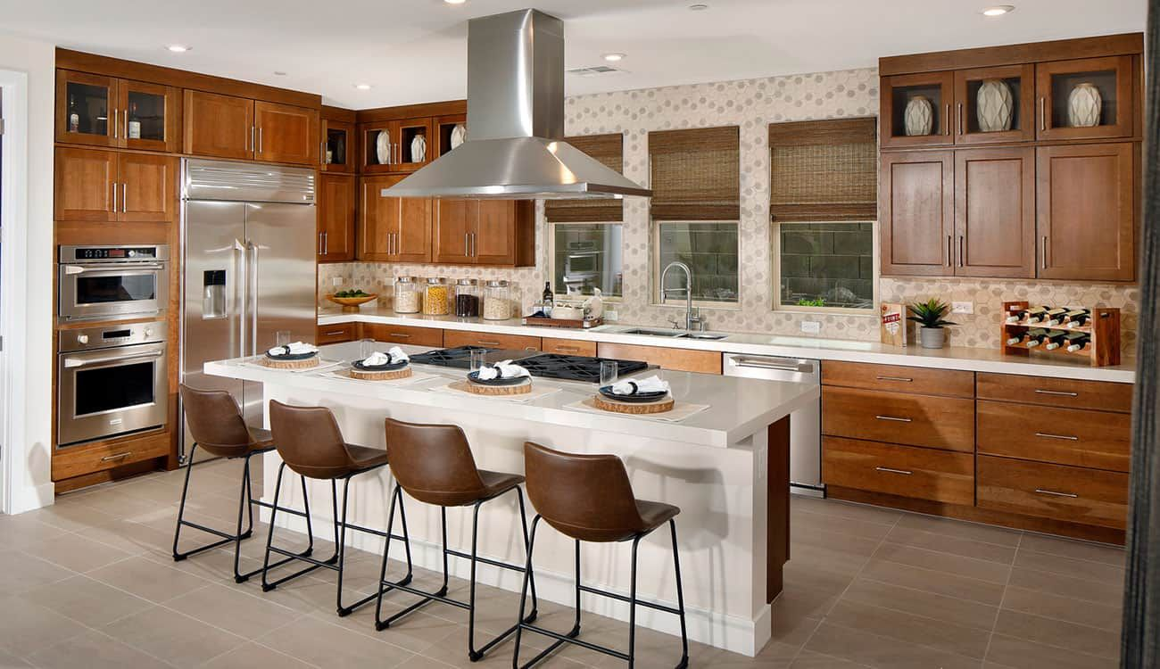 Kitchen featured in the Plan 4 By Tri Pointe Homes in Las Vegas, NV