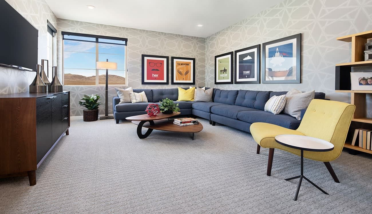 Living Area featured in the Plan 1 By Tri Pointe Homes in Las Vegas, NV
