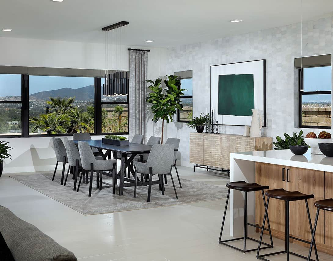 Living Area featured in the Plan 1 By Tri Pointe Homes in San Diego, CA