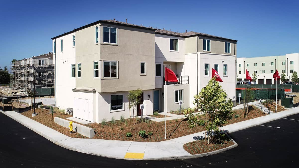 Exterior featured in the Plan 5 By Tri Pointe Homes in San Diego, CA