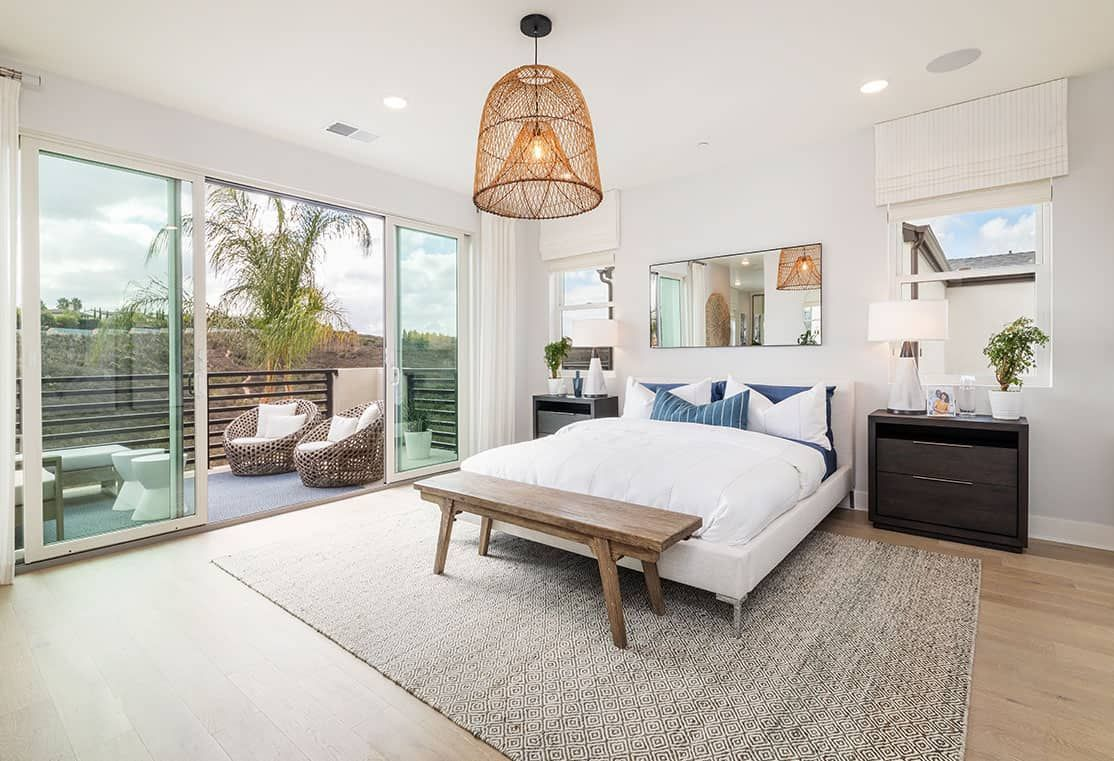 Bedroom featured in the Plan 2 By Tri Pointe Homes in San Diego, CA