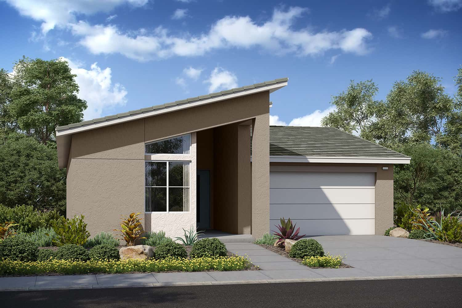 Exterior featured in the Residence 2 By Tri Pointe Homes in Riverside-San Bernardino, CA