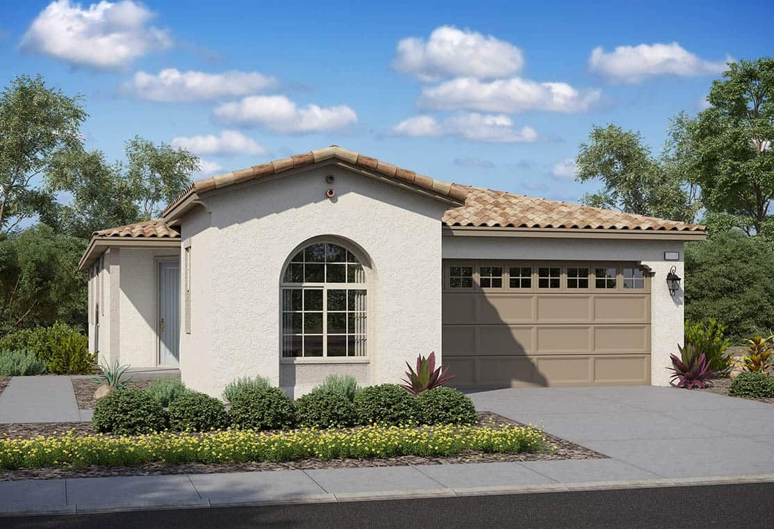 Exterior featured in the Plan 2 By Tri Pointe Homes in Riverside-San Bernardino, CA