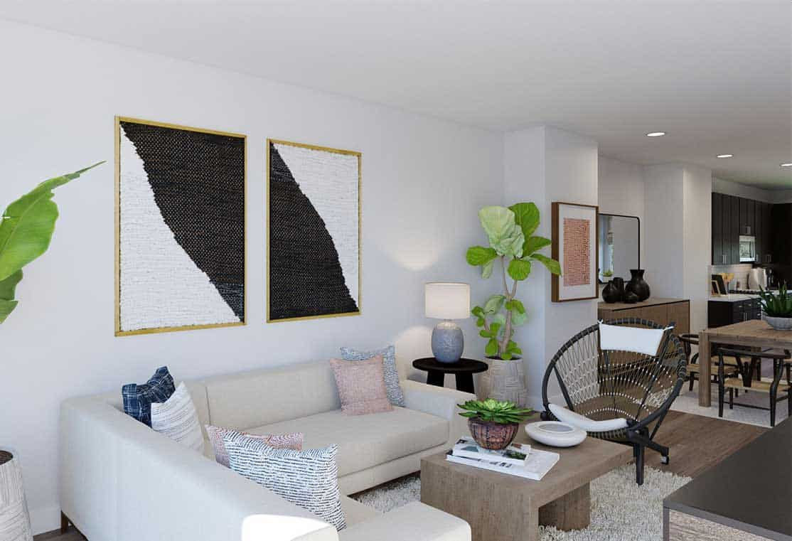 Living Area featured in the Plan A By Tri Pointe Homes in San Francisco, CA