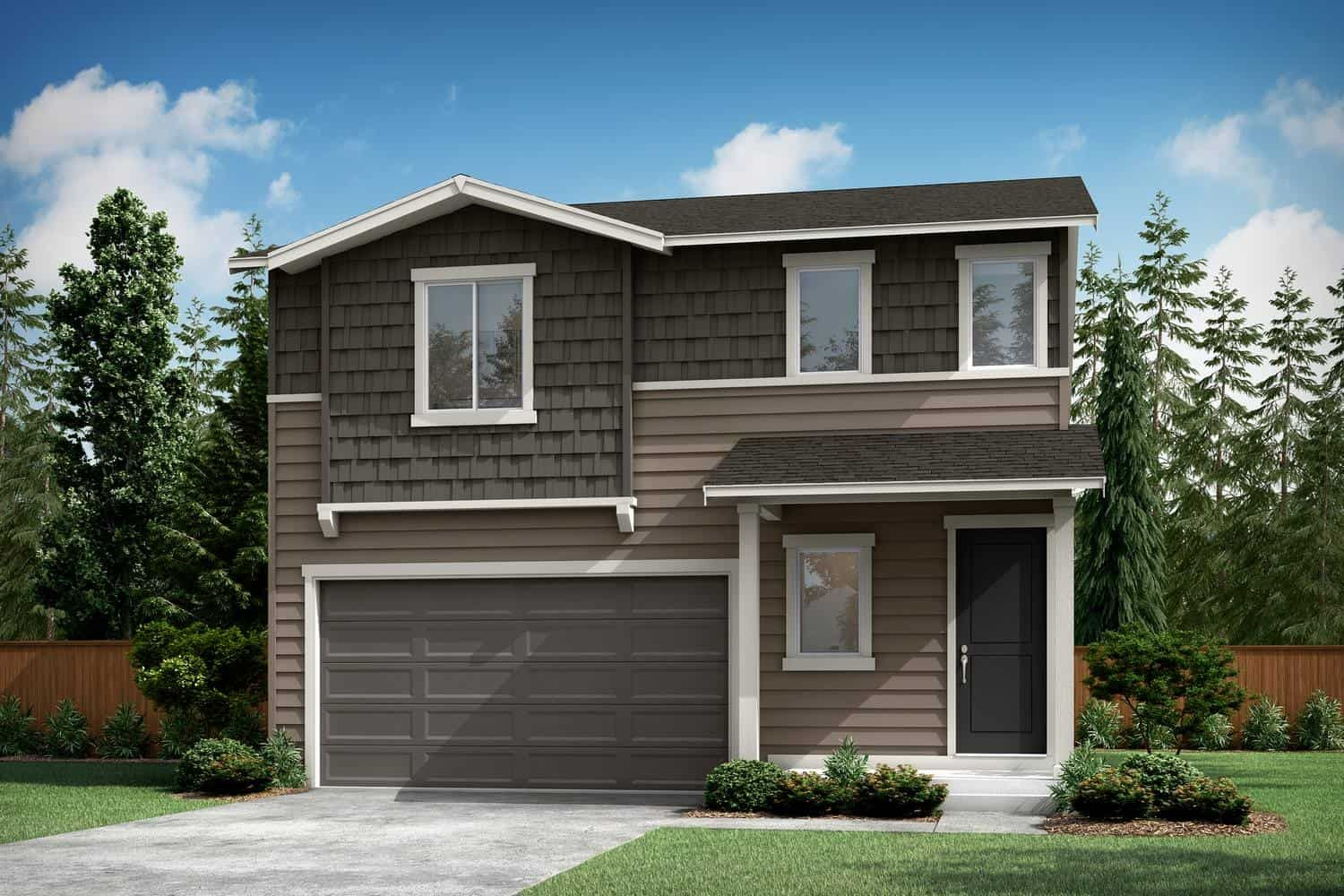 Exterior featured in the Plan A-220 By Tri Pointe Homes in Bremerton, WA