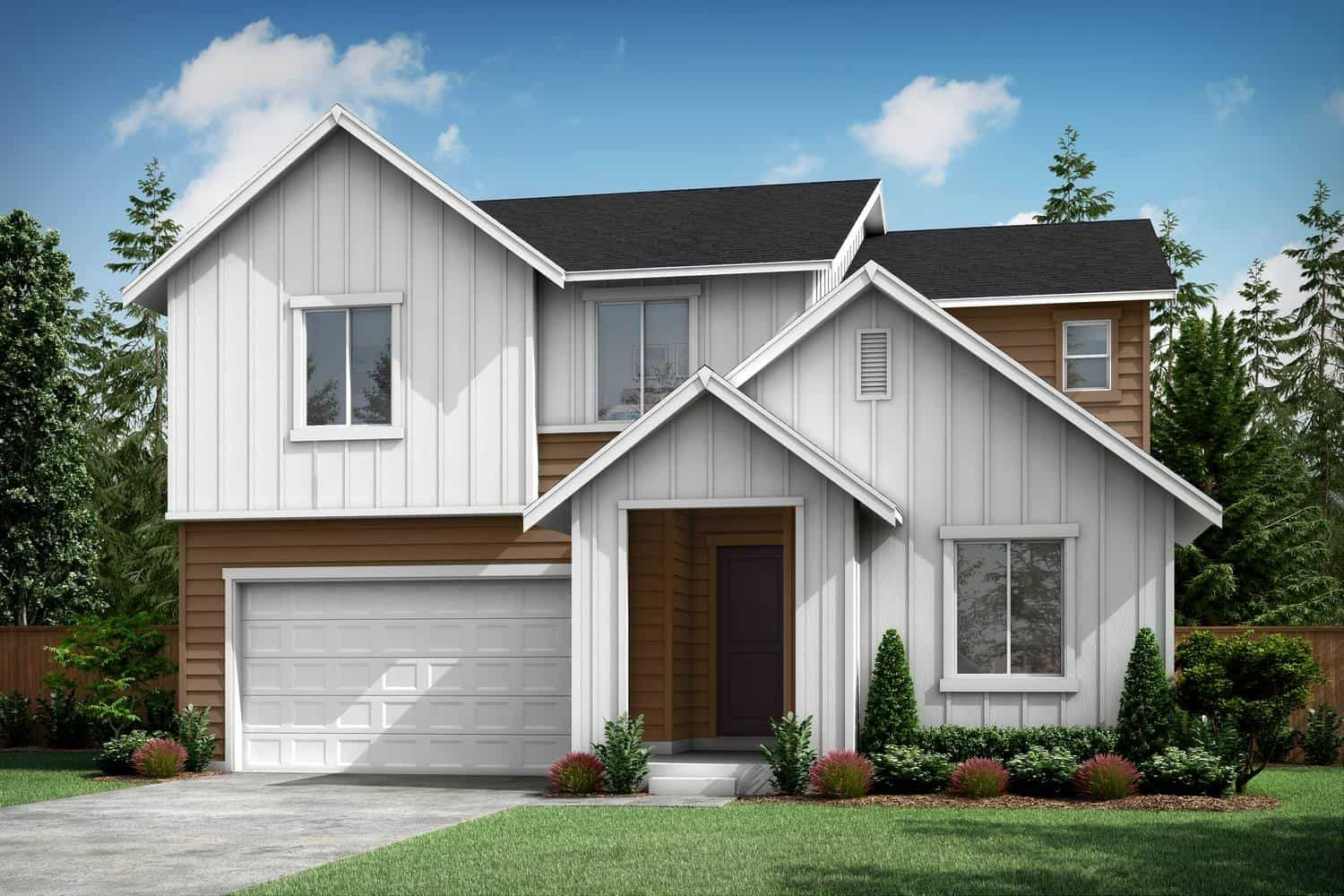 Exterior featured in the Plan A-260 By Tri Pointe Homes in Bremerton, WA