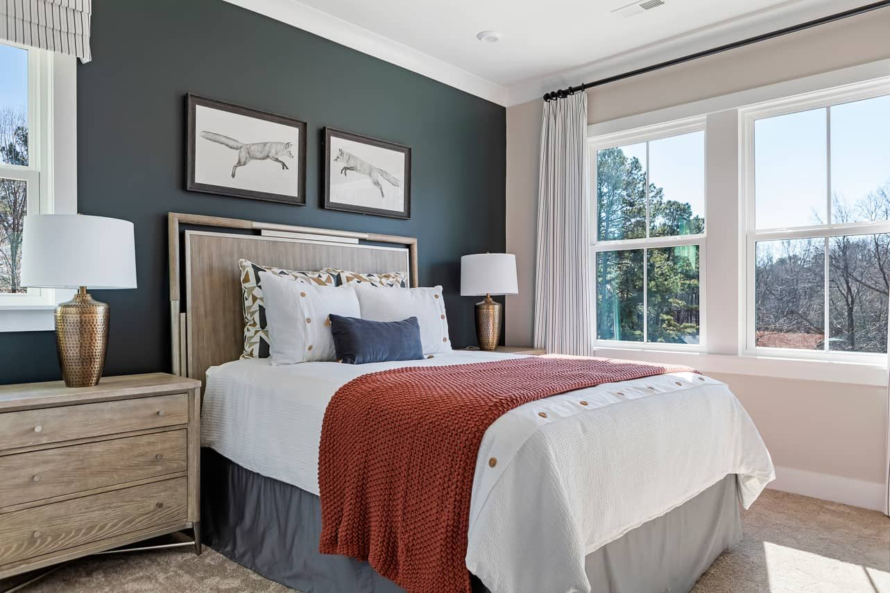 Bedroom featured in the Plan 3 By Tri Pointe Homes in Raleigh-Durham-Chapel Hill, NC