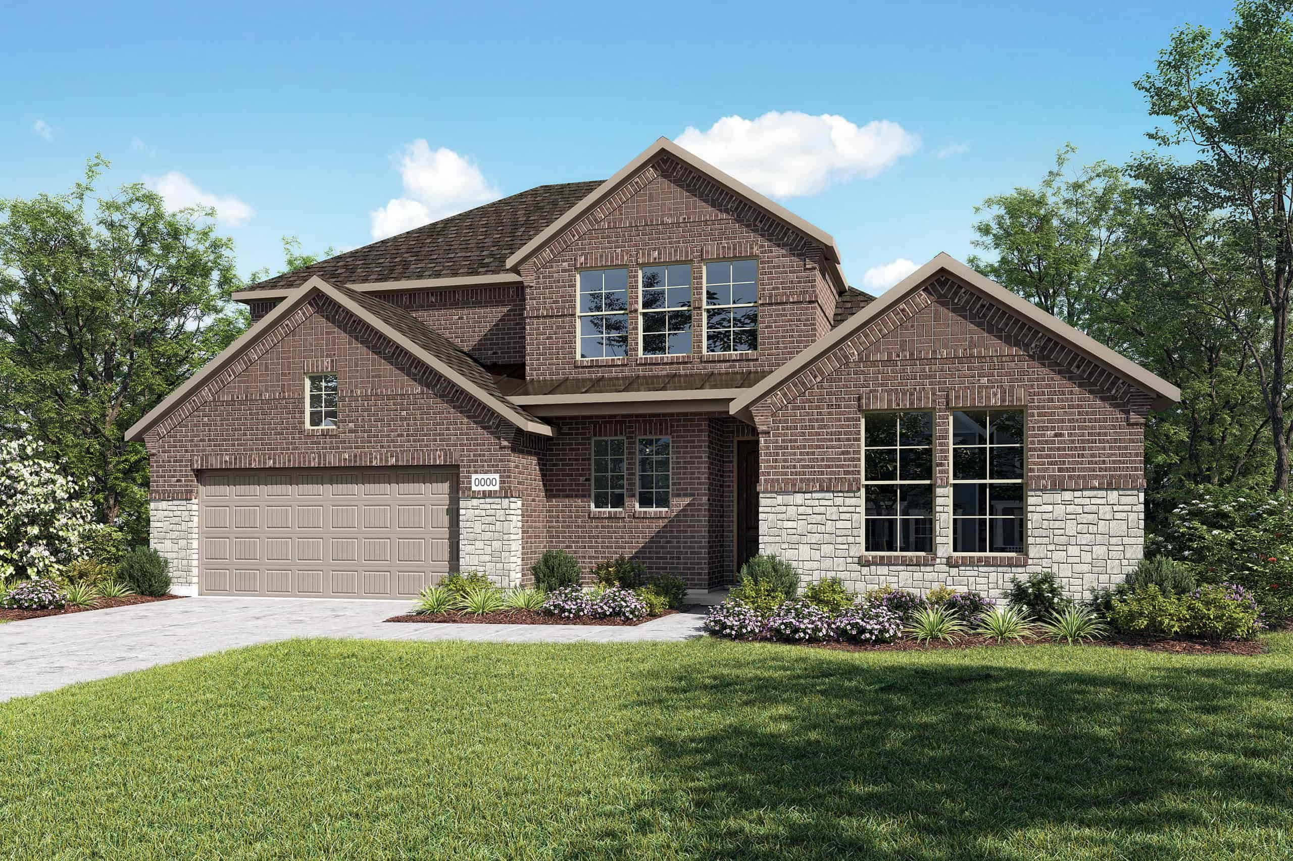 Exterior featured in the Ethan By Tri Pointe Homes in Dallas, TX