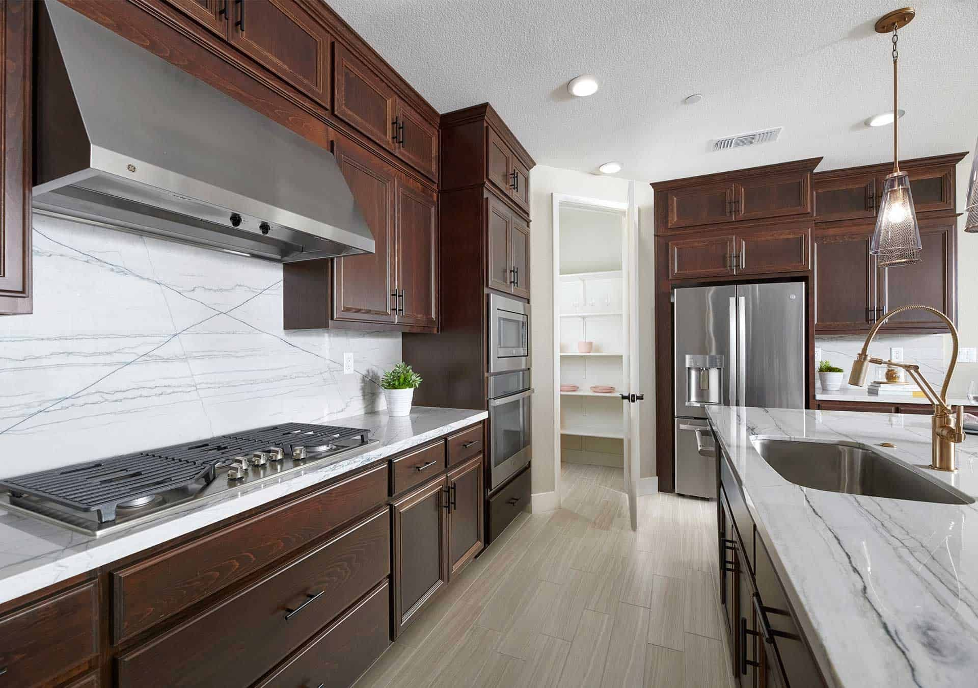Kitchen featured in the Plan 1 By Tri Pointe Homes in Vallejo-Napa, CA