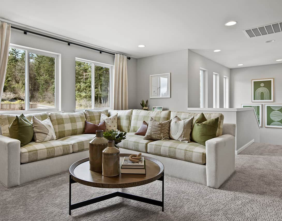 Living Area featured in the Plan A-280 By Tri Pointe Homes in Bremerton, WA