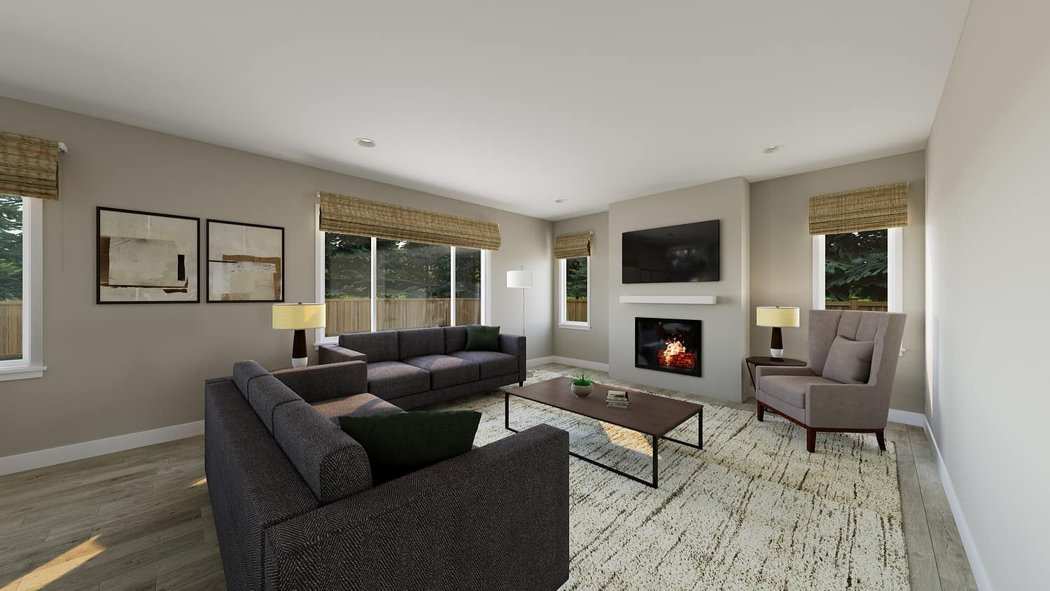 Living Area featured in the Plan A-300 By Tri Pointe Homes in Bremerton, WA