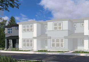 Plan D - Sterling Ranch Townhomes: Littleton, Colorado - Tri Pointe Homes