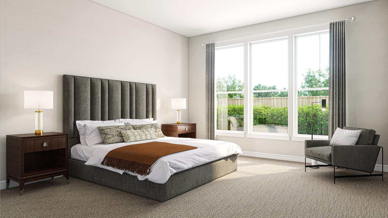 Bedroom featured in the Verdin By Tri Pointe Homes in Houston, TX