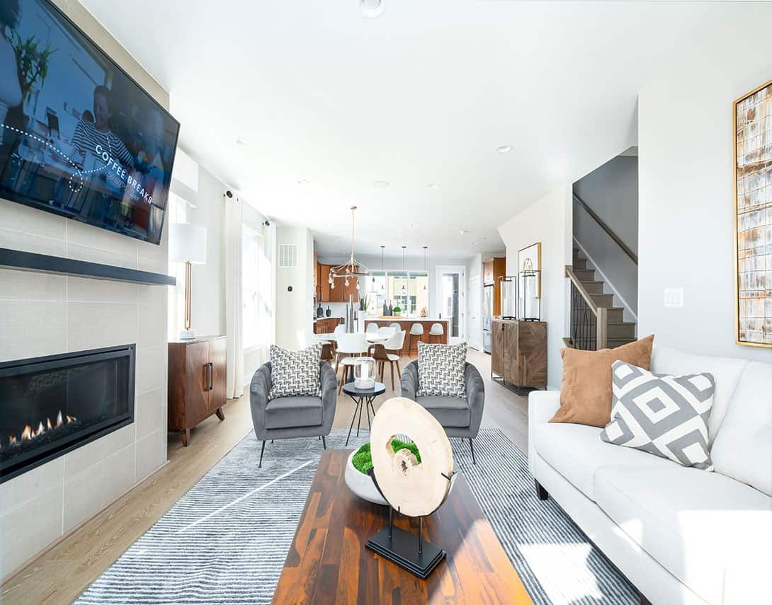 Living Area featured in the Manhattan By Tri Pointe Homes in Washington, VA