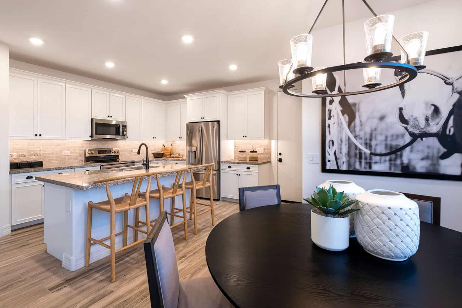 Kitchen featured in the Residence 4 By Tri Pointe Homes in Phoenix-Mesa, AZ