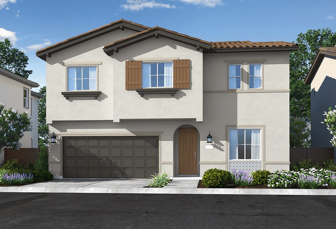 Exterior featured in the Plan 4 By Tri Pointe Homes in Sacramento, CA