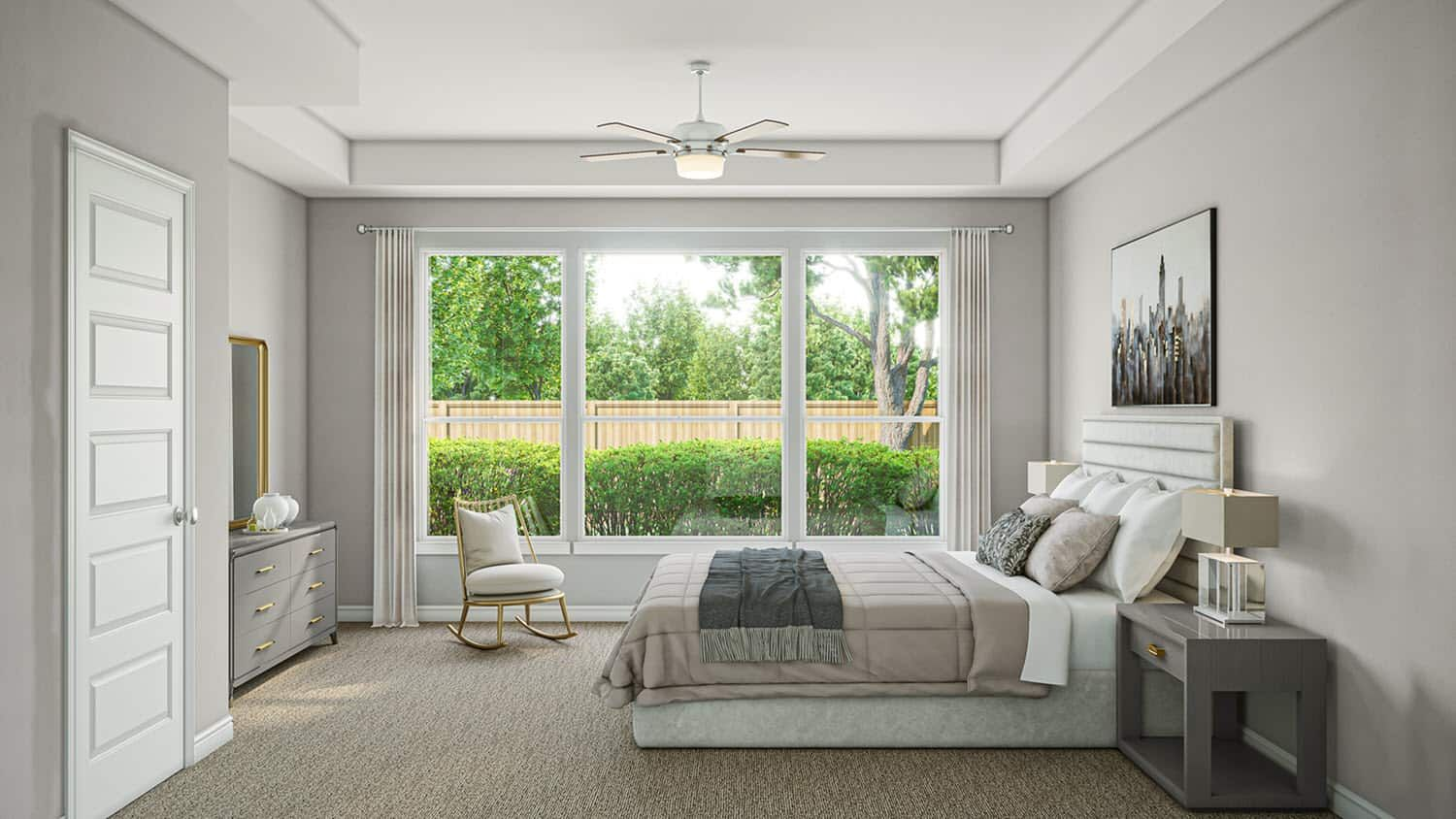 Bedroom featured in the Albion By Tri Pointe Homes in Houston, TX