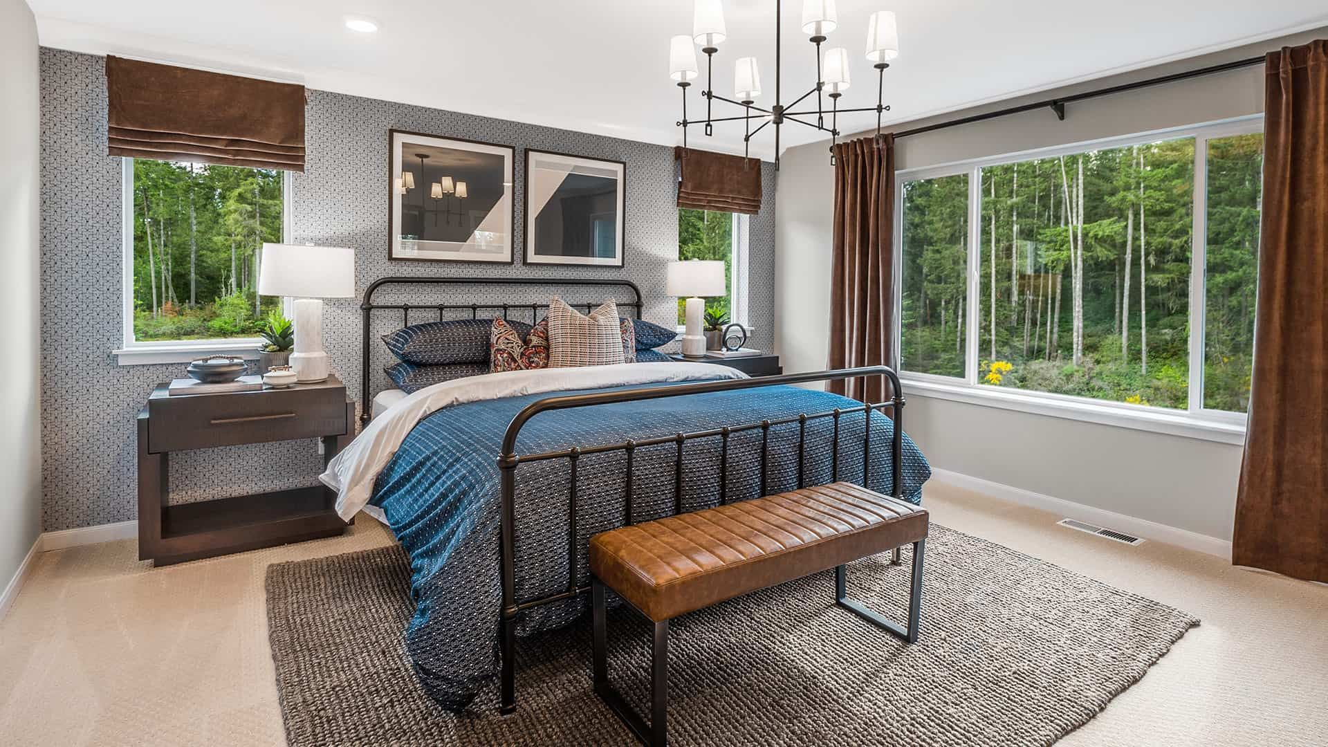 Bedroom featured in the Plan A-240 By Tri Pointe Homes in Bremerton, WA