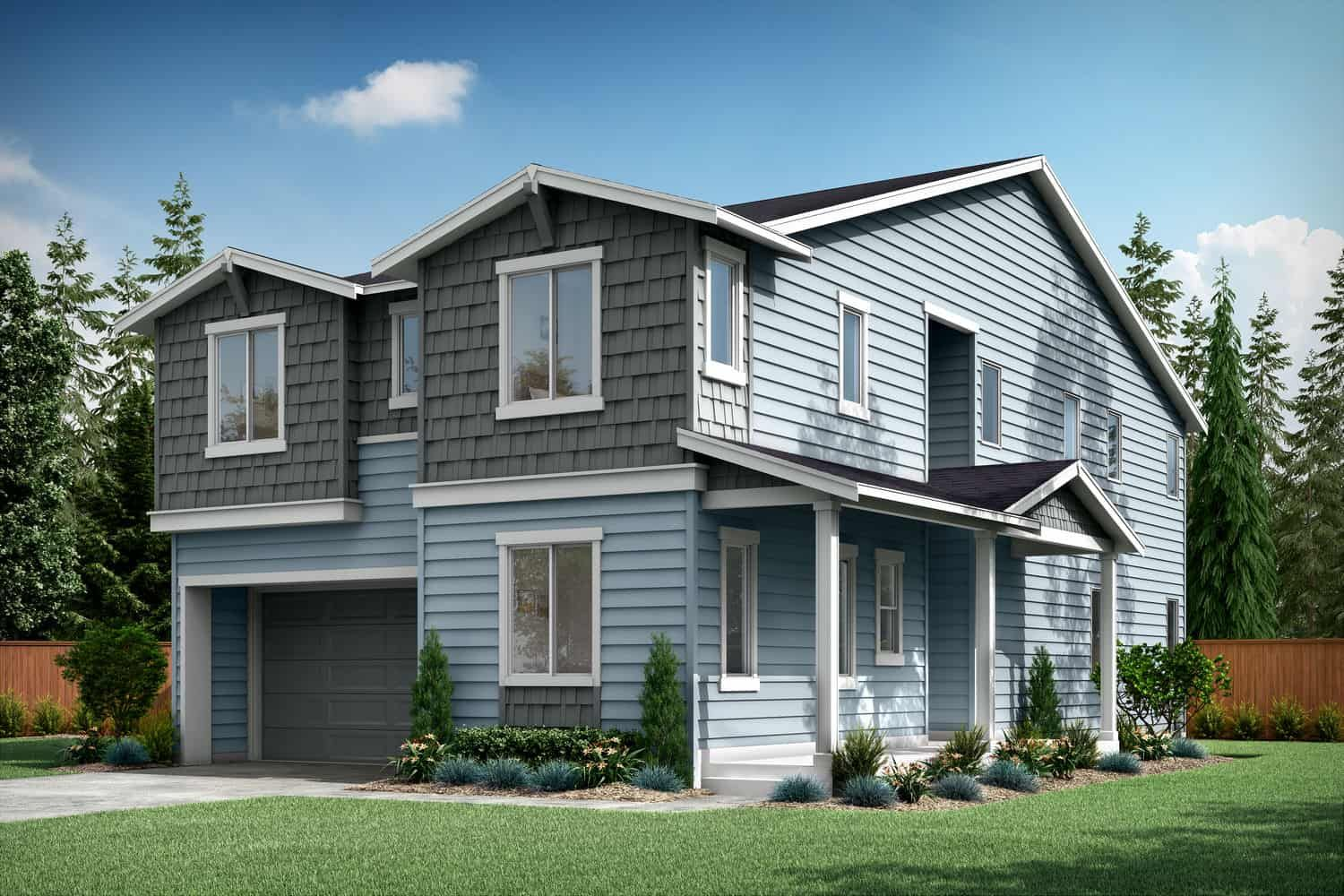 Exterior featured in the Plan A-270 By Tri Pointe Homes in Bremerton, WA