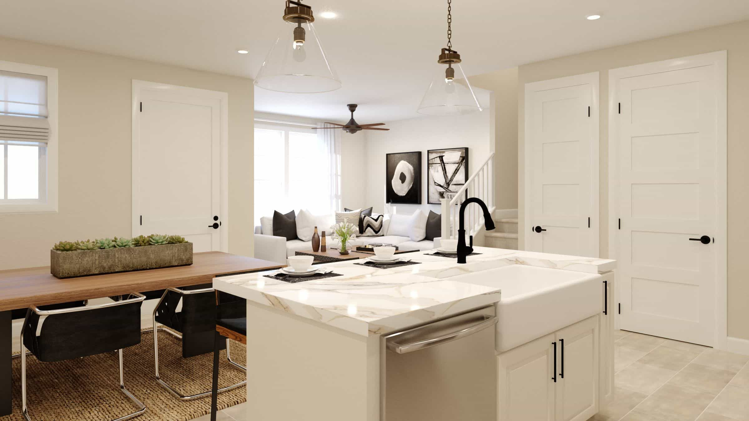 Kitchen featured in the Plan A By Tri Pointe Homes in Denver, CO