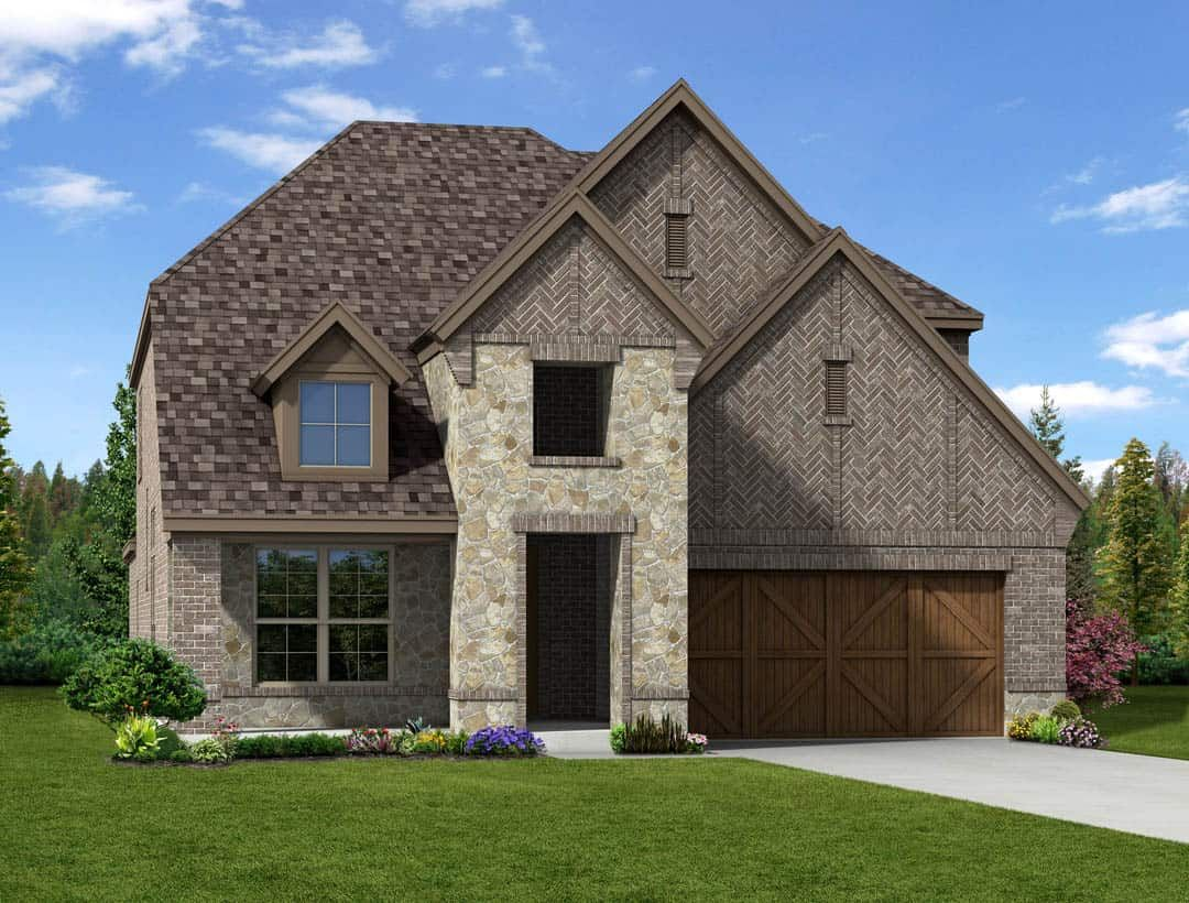 'Lakes of River Trails' by Tri Pointe Homes Dallas-Fort Worth in Fort Worth