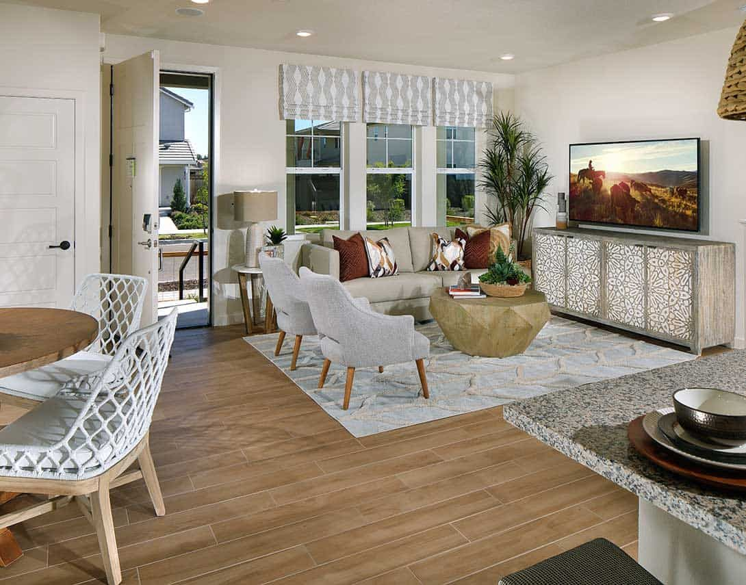 Living Area featured in the Plan 1 By Tri Pointe Homes in Sacramento, CA