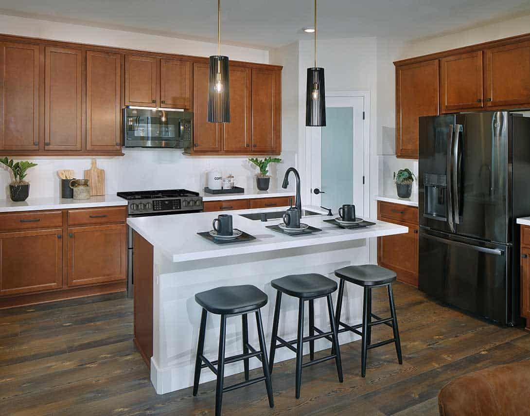 Kitchen featured in the Plan 4 By Tri Pointe Homes in Sacramento, CA