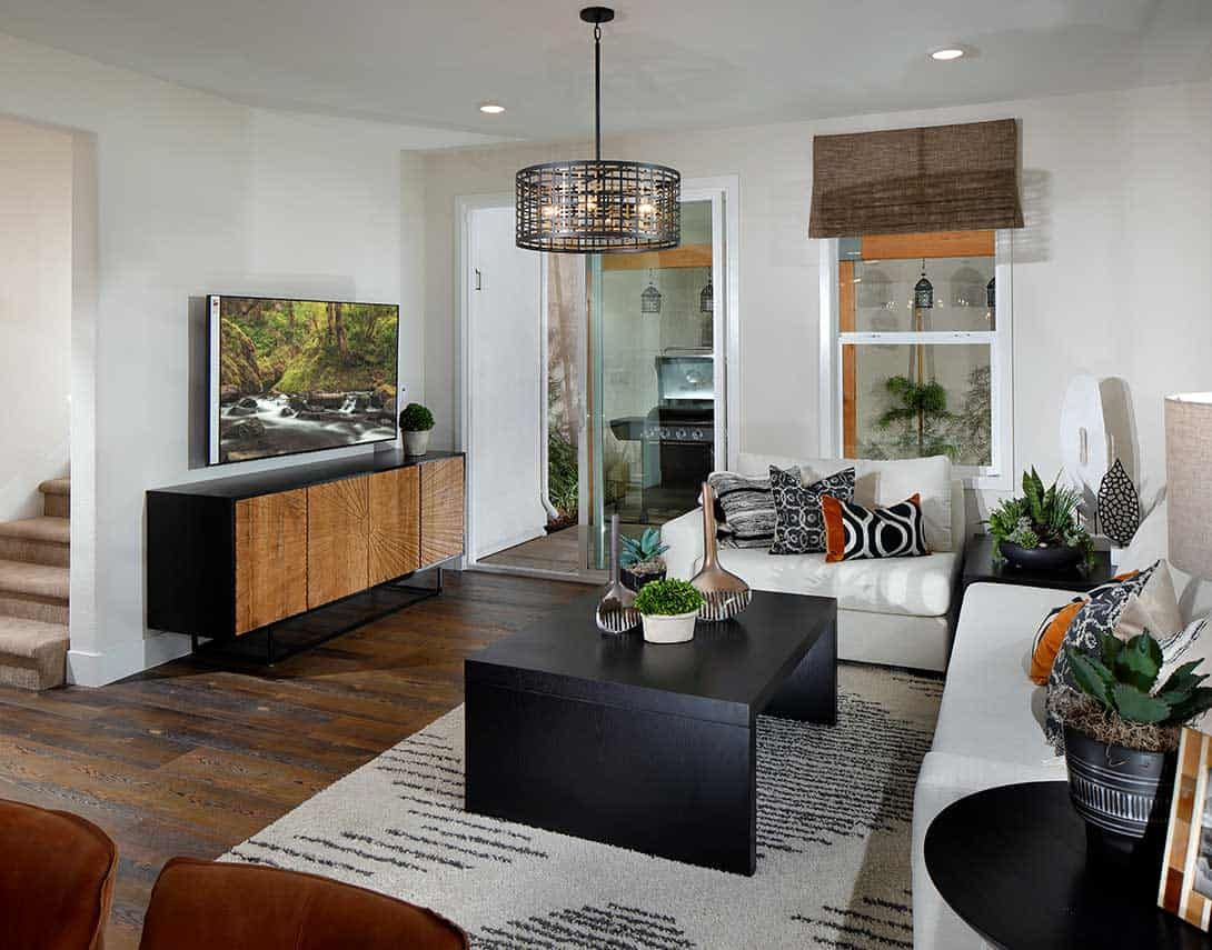 Living Area featured in the Plan 4 By Tri Pointe Homes in Sacramento, CA