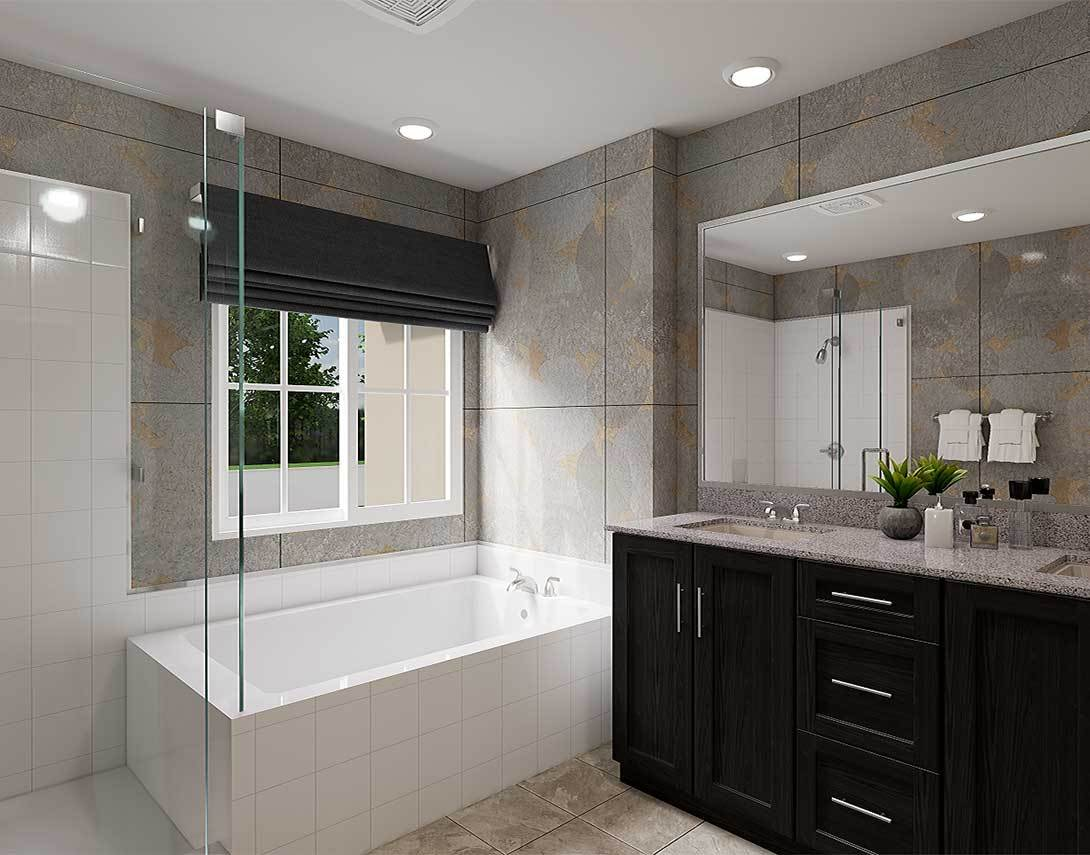 Bathroom featured in the Plan 1 By Tri Pointe Homes in San Diego, CA