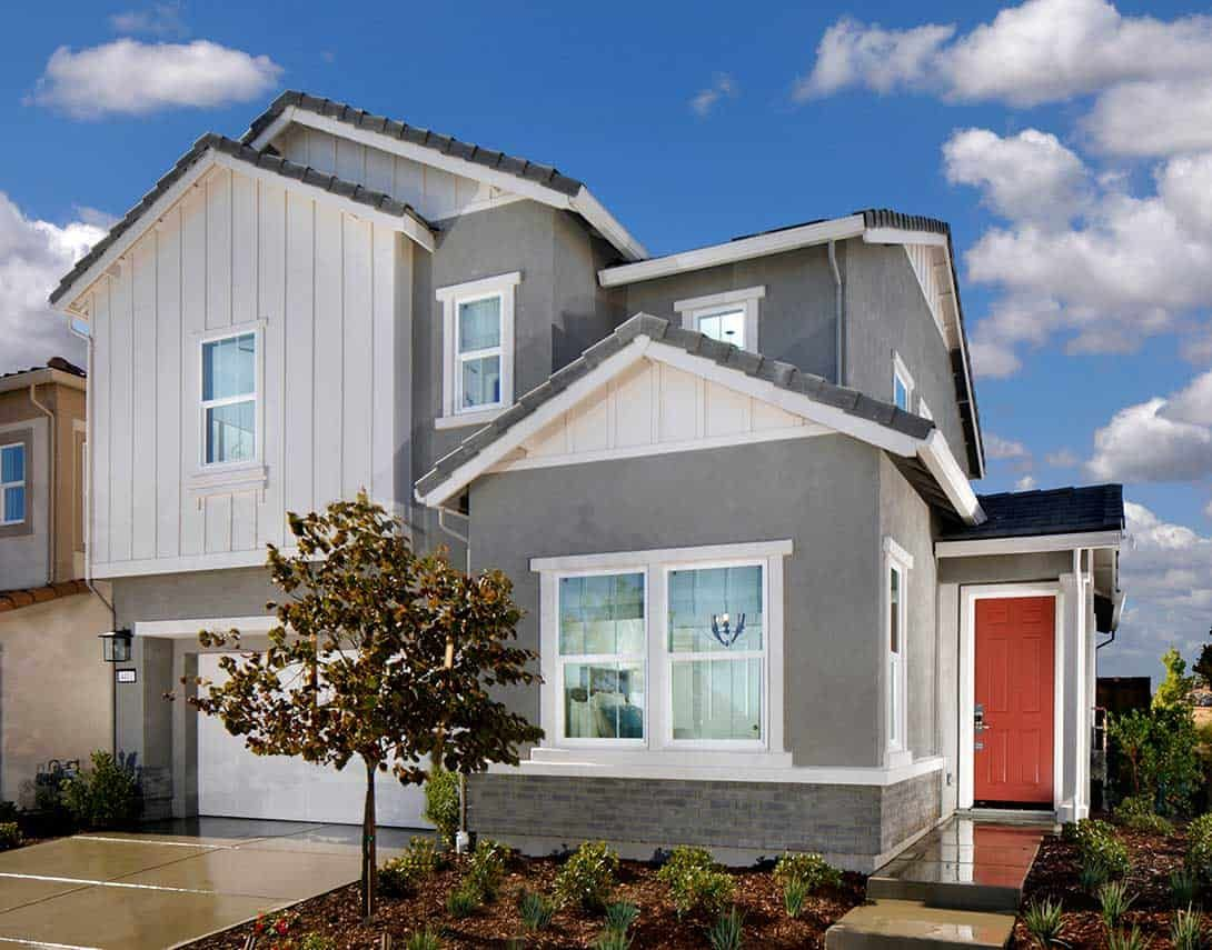 Exterior featured in the Plan 2 By Tri Pointe Homes in Sacramento, CA