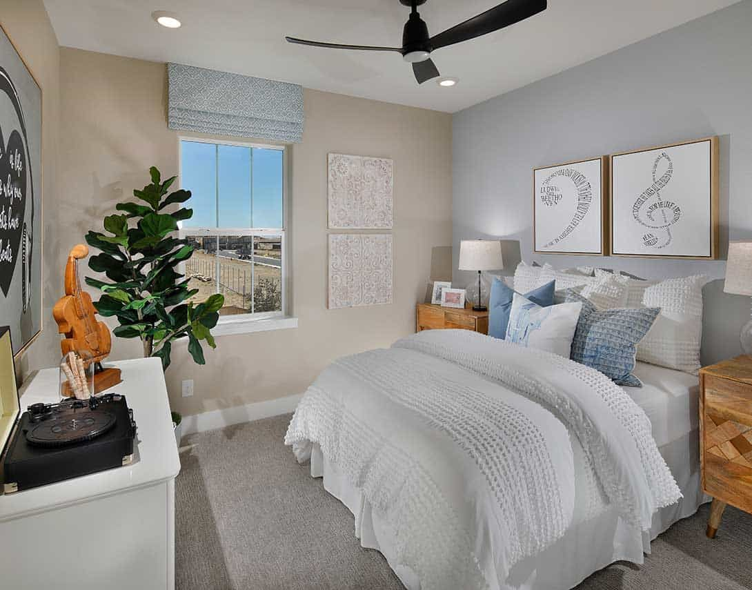 Bedroom featured in the Plan 2 By Tri Pointe Homes in Sacramento, CA