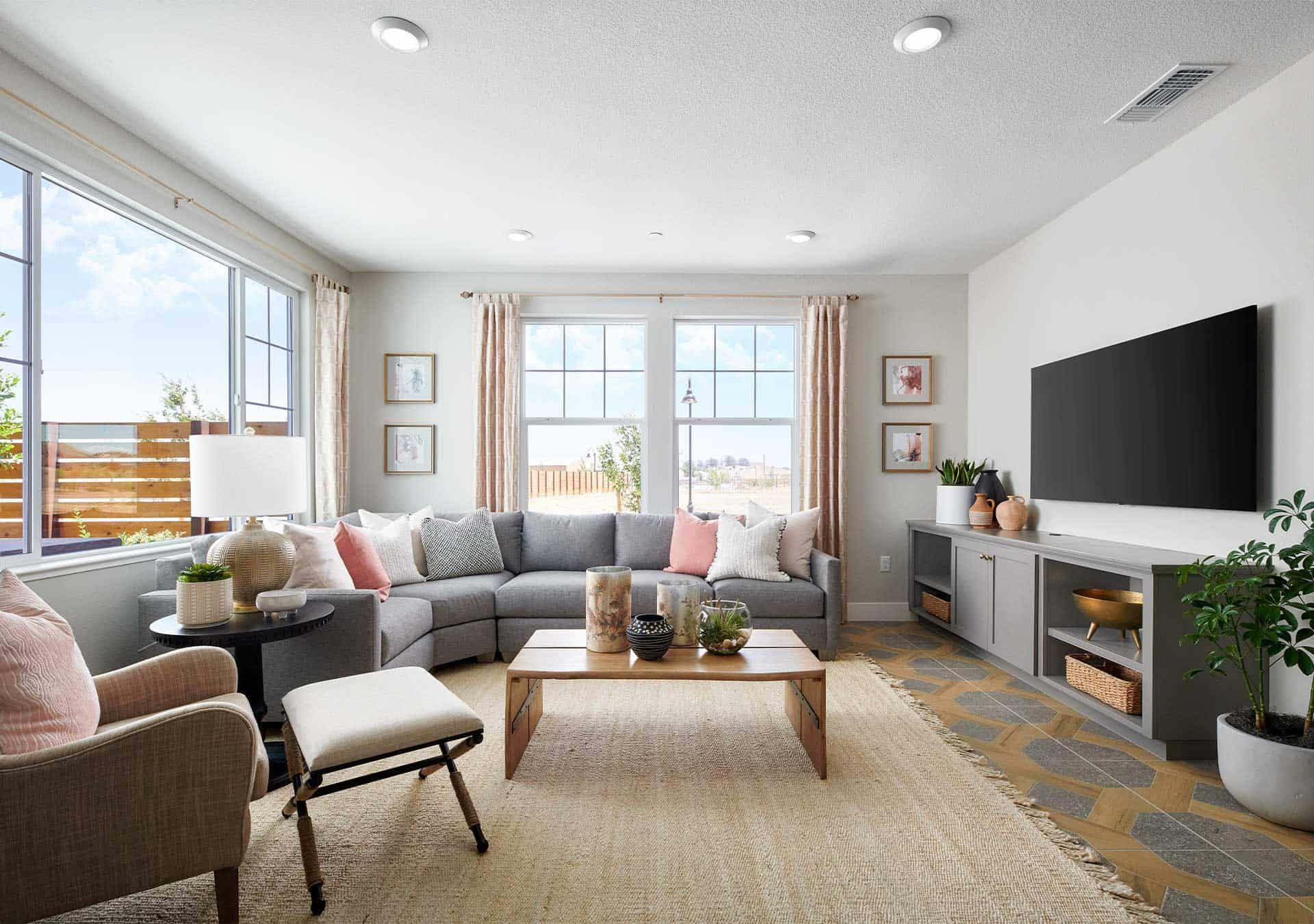Living Area featured in the Plan 2 By Tri Pointe Homes in Vallejo-Napa, CA