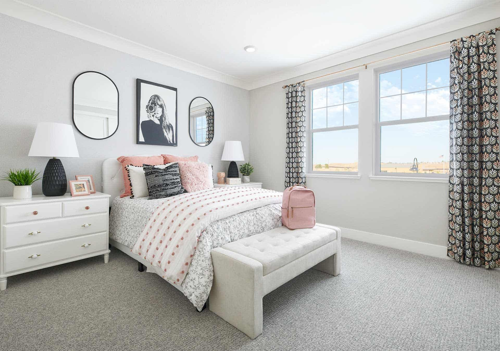 Bedroom featured in the Plan 2 By Tri Pointe Homes in Vallejo-Napa, CA