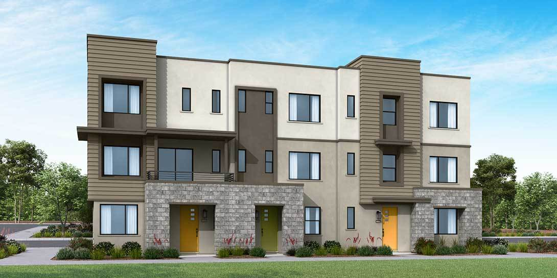 Exterior featured in the Plan 2 By Tri Pointe Homes in Los Angeles, CA