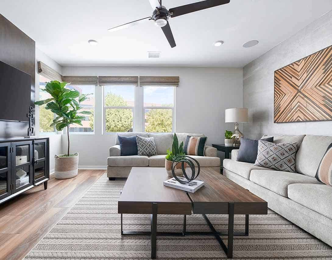 Living Area featured in the Plan 5X By Tri Pointe Homes in Orange County, CA