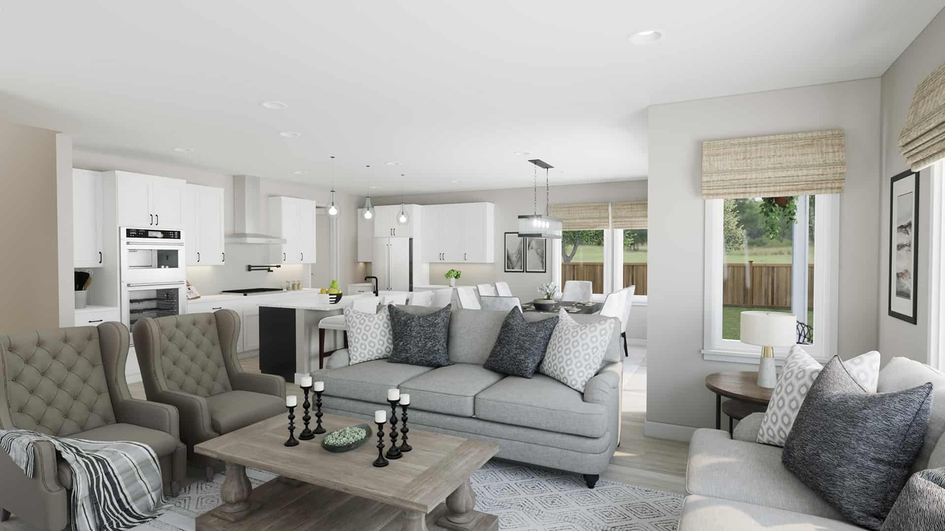 Living Area featured in the Plan A-270 By Tri Pointe Homes in Bremerton, WA