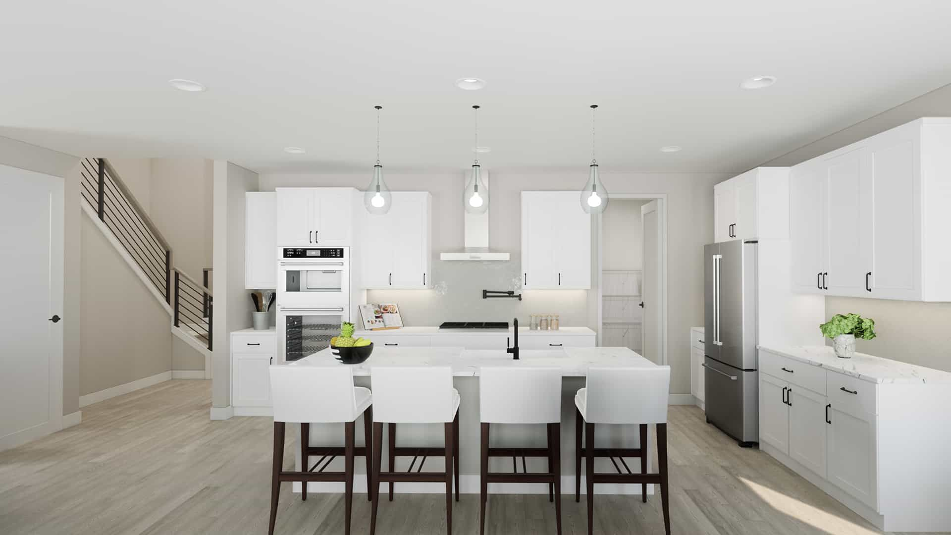Kitchen featured in the Plan A-270 By Tri Pointe Homes in Bremerton, WA