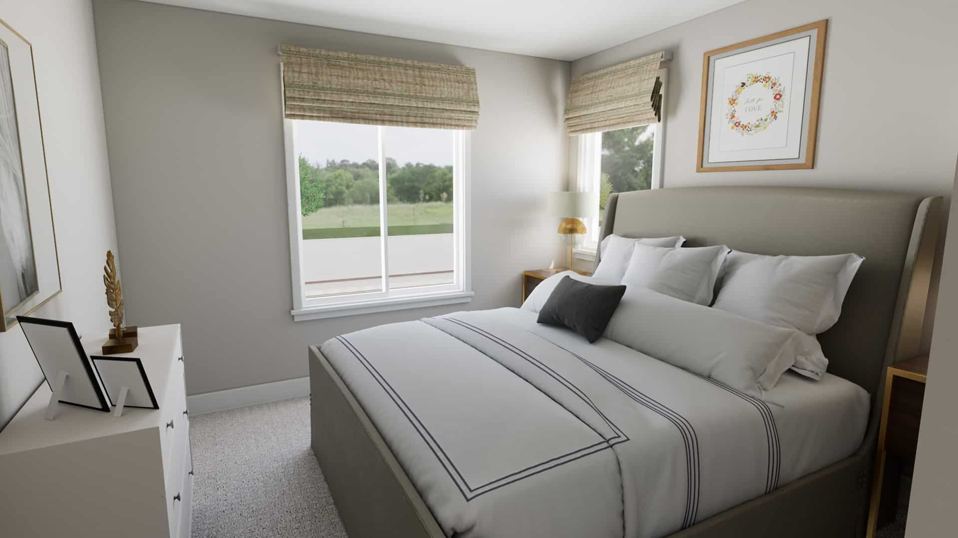 Bedroom featured in the Plan A-270 By Tri Pointe Homes in Bremerton, WA