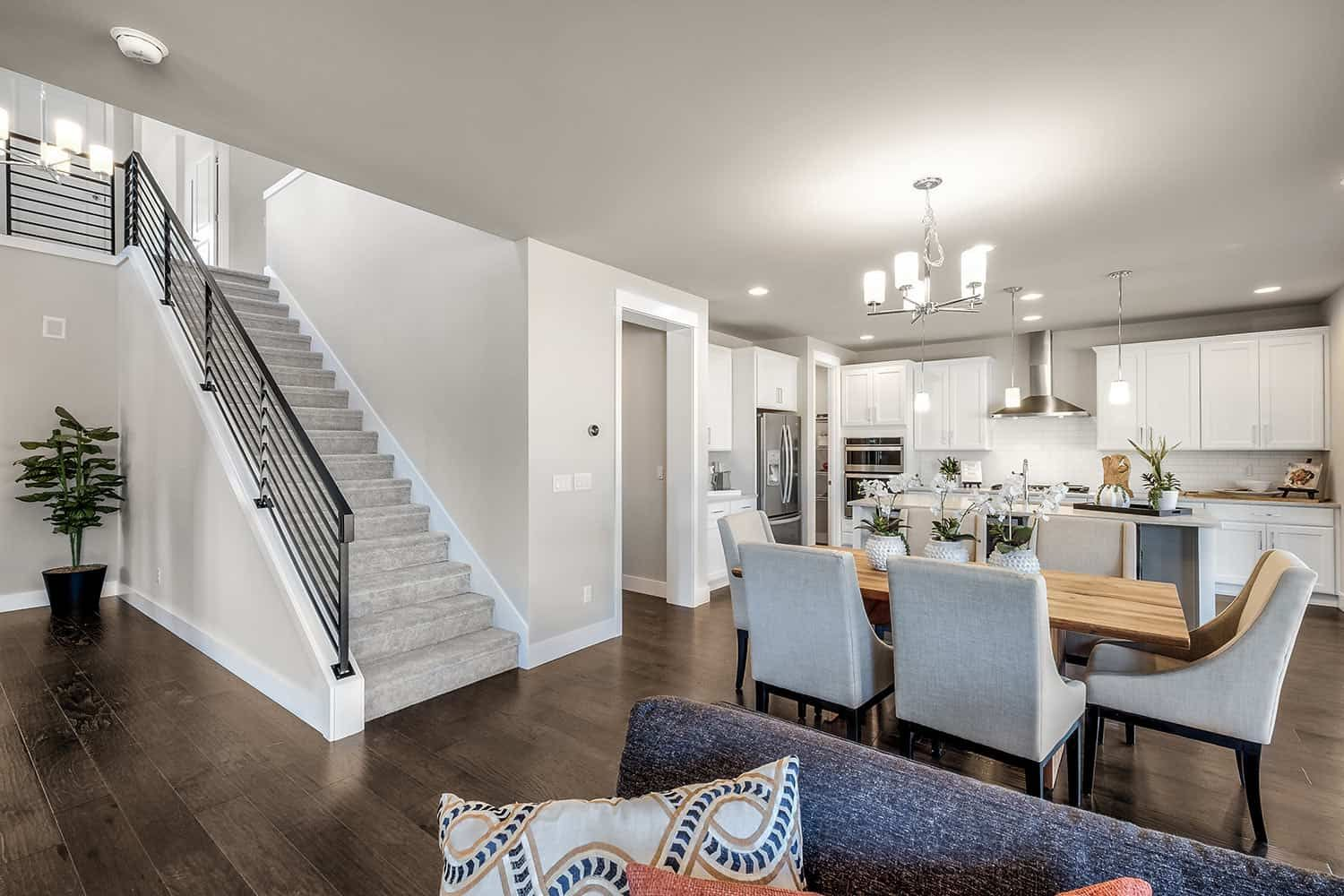 Living Area featured in the Plan M-260 By Tri Pointe Homes in Seattle-Bellevue, WA