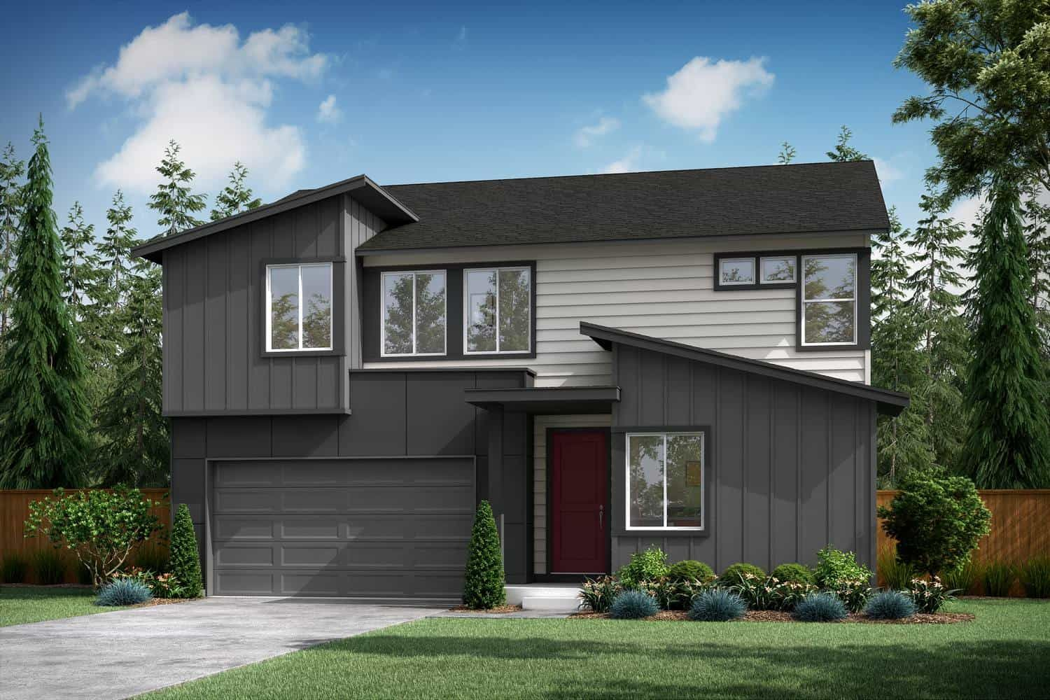 Exterior featured in the Plan A-300 By Tri Pointe Homes in Bremerton, WA