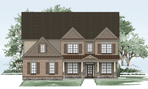 Tipton Homebuilders  The Hillgrove-Design-at-Sterling on the Lake-in-Flowery Branch