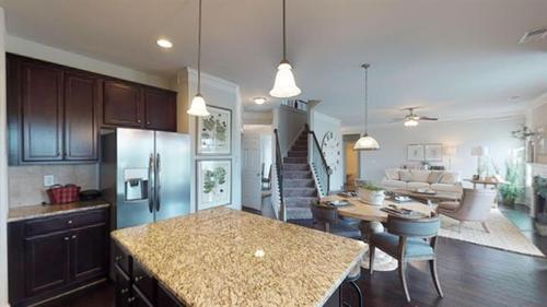 Kitchen-in-Stephen Elliott Homes  The Northview-at-Hampton Place Estates-in-Covington