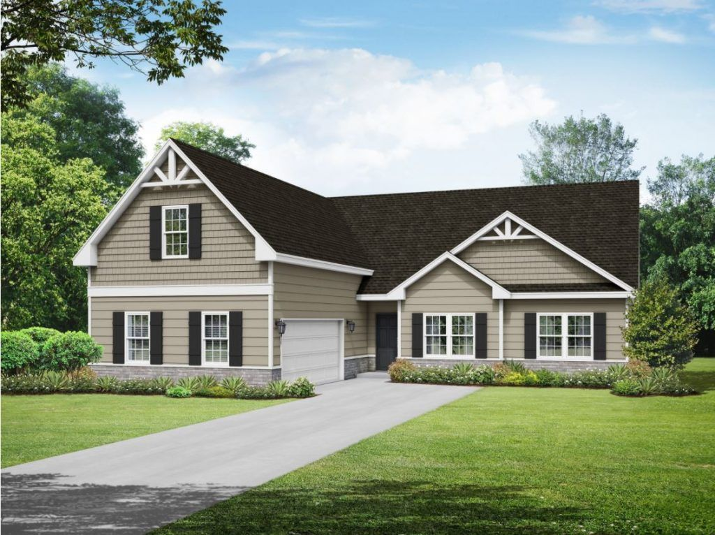 Exterior featured in the Expo Homes  The Anderson By Expo Homes in Atlanta, GA