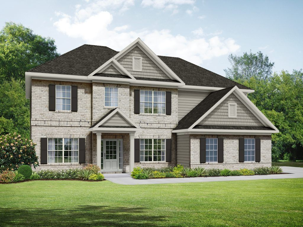 Exterior featured in the Stephen Elliott Homes  The Donovan Side Entry By Stephen Elliott Homes