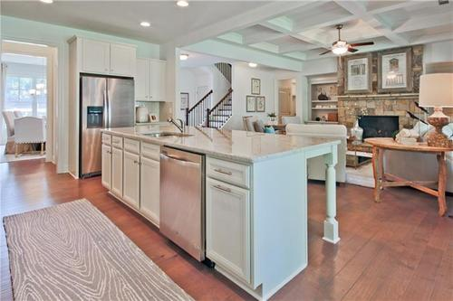 Kitchen-in-Tipton Homebuilders  The Westleigh-at-Sterling on the Lake-in-Flowery Branch