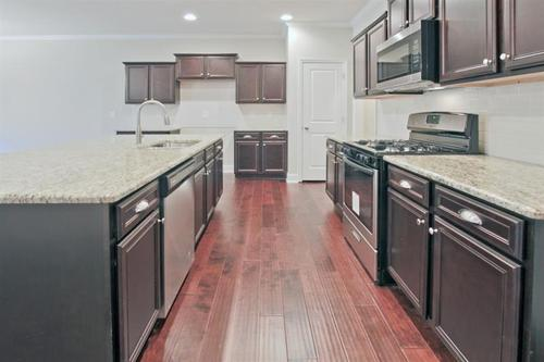 Kitchen-in-Home South Communities  The Smithtown-at-Amberly Mill-in-Lawrenceville