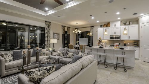 Greatroom-and-Dining-in-Farnese-at-Estero Pointe-in-Fort Myers