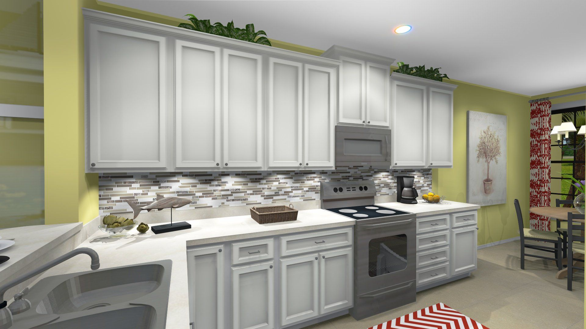 Kitchen-in-Caserta VII-at-Esplanade Golf and Country Club of Naples Condos-in-Naples