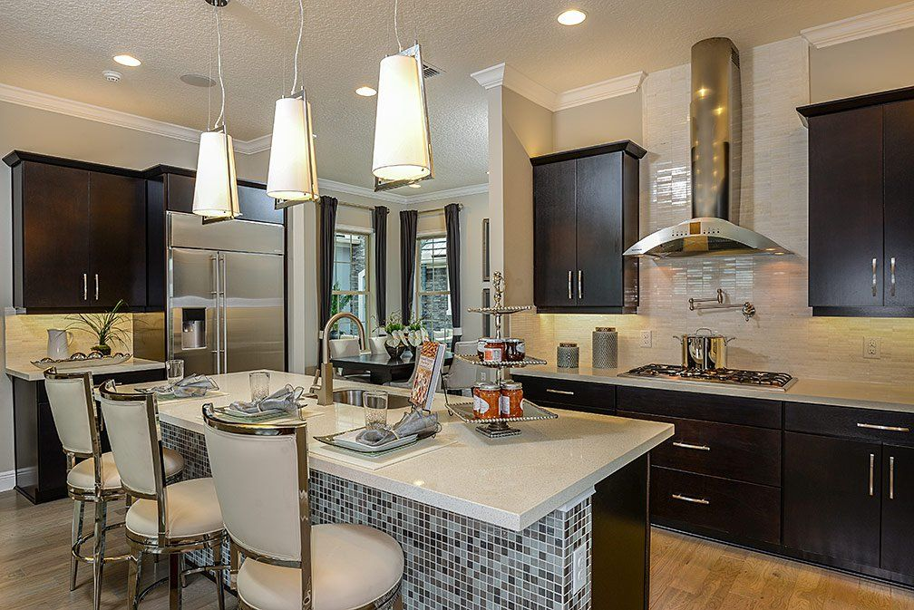 Kitchen-in-Tuscany-at-Steeple Chase-in-Lake Mary